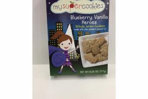 BLUEBERRY VANILLA HEROES WHOLE GRAIN COOKIES