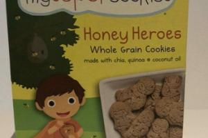 ORGANIC HONEY HEROES WHOLE GRAIN COOKIES