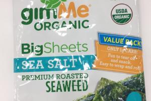Organic Premium Roasted Seaweed