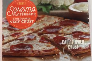 Thin & Crispy Cauliflower Crust Uncured Pepperoni Pizza