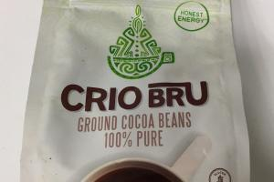 Ghana Light Roast 100% Pure Ground Cocoa Beans Coffee