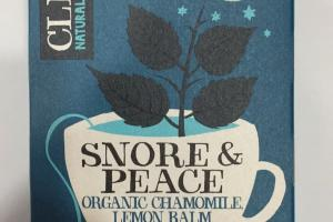Organic Chamomile, Lemon Balm & Lavender Herbal Tea