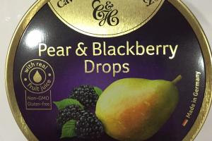 Pear & Blackberry Drops