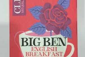 Big Ben English Breakfast Organic Tea