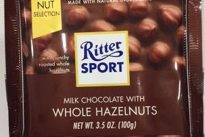 Milk Chocolate With Whole Hazelnuts