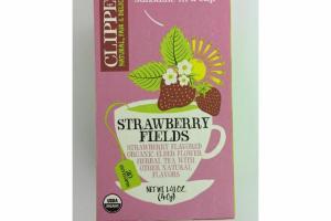 STRAWBERRY FLAVORED ORGANIC ELDER FLOWER HERBAL TEA