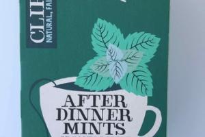 ORGANIC DOUBLE MINT & FENNEL HERBAL TEA