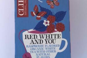 RASPBERRY FLAVORED ORGANIC WHITE TEA