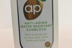 Anti-aging Water Resistant Sunblock