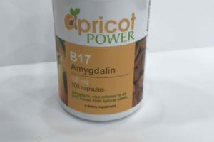 B17 AMYGDALIN 100 MG A DIETARY SUPPLEMENT CAPSULES