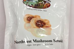 Northwest Mushroom Strudel