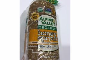 HONEY SPROUT ORGANIC BREAD