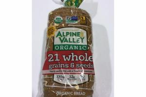 21 WHOLE GRAINS & SEEDS ORGANIC BREAD