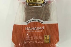 HAWAIIAN 100% WHOLE GRAIN SWEET BREAD