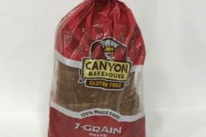 100% WHOLE 7-GRAIN BREAD