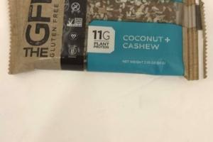 COCONUT + CASHEW GLUTEN FREE BAR