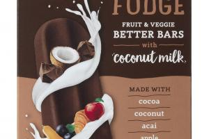 Fudge Fruit & Veggie Better Bars With Coconut Milk