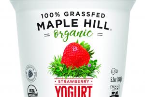 100% Grassfed Whole Milk Yogurt