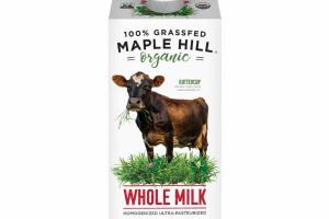 100% GRASSFED MAPLE HILL ORGANIC WHOLE MILK