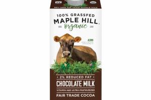 100% GRASSFED 2% REDUCED FAT CHOCOLATE MILK