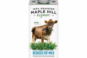 100% GRASSFED ORGANIC REDUCED FAT MILK