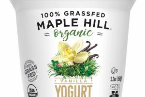 ORGANIC VANILLA YOGURT WHOLE MILK