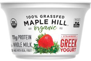 STRAWBERRY WHOLE MILK GREEK YOGURT