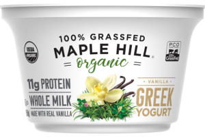 VANILLA BEAN WHOLE MILK GREEK YOGURT