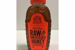 100% PURE NATURAL RAW & UNFILTERED HONEY