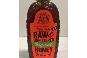 100% PURE RAW & UNFILTERED ORGANIC HONEY