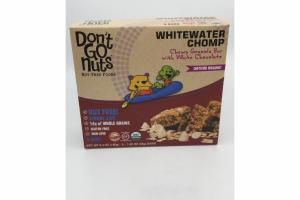 WHITEWATER CHOMP CHEWY GRANOLA BAR WITH WHITE CHOCOLATE