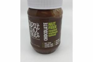 CHOCOLATE NUT FREE ROASTED SOYBEAN SPREAD