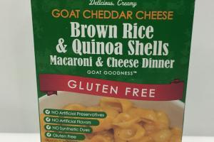 Brown Rice & Quinoa Shells Macaroni & Cheese Dinner