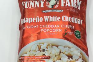 Goat Cheddar Cheese Popcorn