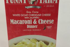 White Goat Cheddar Cheese With Jalapeno