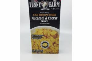 GOAT CHEDDAR CHEESE MACARONI & CHEESE DINNER