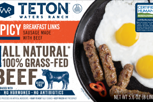 Spicy Breakfast Links Sausage Made With Beef