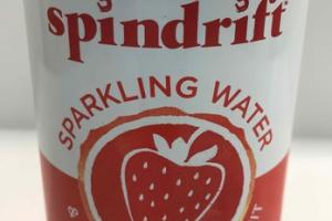 STRAWBERRY UNSWEETENED  SPARKLING WATER