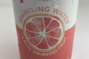 SPARKLING WATER & REAL SQUEEZED FRUIT