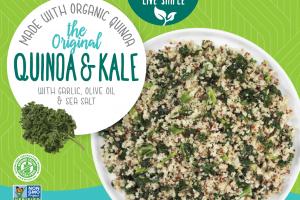 The Original Quinoa & Kale With Garlic, Olive Oil & Sea Salt