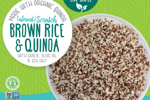 Scratch Brown Rice & Quinoa With Garlic, Olive Oil & Sea Salt