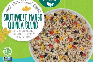 Southwest Mango Quinoa Blend With Black Beans, Fire Roasted Corn & Cilantro Lime
