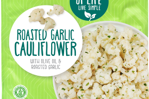 ROASTED GARLIC CAULIFLOWER WITH OLIVE OIL