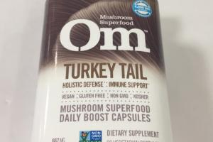 Mushroom Superfood Daily Boost Capsules Dietary Supplement