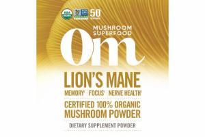 LION'S MANE MUSHROOM DIETARY SUPPLEMENT POWDER