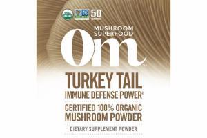 TURKEY TAIL IMMUNE DEFENSE POWER MUSHROOM DIETARY SUPPLEMENT POWDER