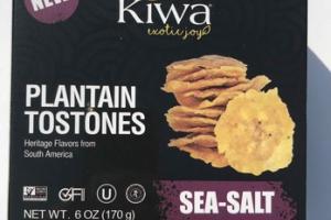 SEA-SALT PLANTAIN TOSTONES