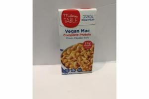 CLASSIC CHEDDAR STYLE COMPLETE PROTEIN VEGAN MAC