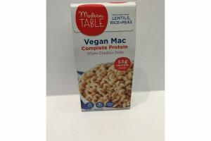 WHITE CHEDDAR STYLE VEGAN MAC COMPLETE PROTEIN