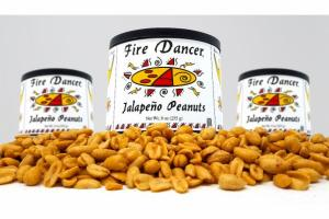 HONEY JALAPENO PEANUTS